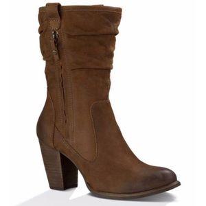 UGG Dayton Nubuck Leather slouched Boots